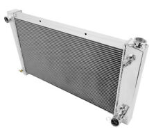 "1967-1972 Chevy Pickup Truck Aluminum American Eagle 2 Row 1"" Tubes Radiator"