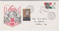 GB STAMPS FIRST DAY COVER 1969 GANDHI DOUBLED MALTA UNIQUE ? RARES COLLECTION