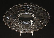 Fostoria 2056 American Clear 13-1/2 Inch Small Oval Torte Plate Platter