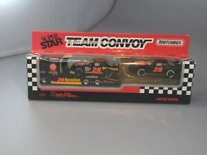 Vintage 1993 Matchbox Super Star Team Convoy Davey Allison Texaco Havoline #28
