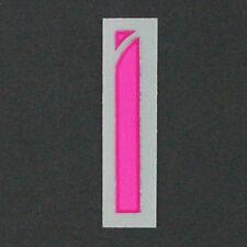 16/17-Barcellona Via in plastica stile/colore rosa/lettera I = dimensione del giocatore