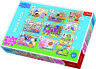 Trefl 10 In 1 20, 35 And 48 Piece Peppa Pig With Friends Floor Jigsaw Puzzle NEW