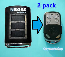 2x Boss BHT3 bht-3 ht 3 BOSS6 Bol4 Bol6 OL4 RD11 Garage Door Remote 433MHz
