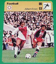 FOOTBALL ALBERT EMON 1978 FRANCE AS MONACO - PARIS SAINT-GERMAIN PSG