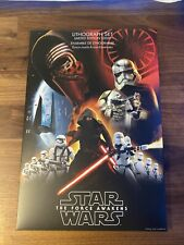 Disney Star Wars Limited Edition The Force Awakens Lithograph Set (10,000 made)