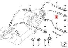 Genuine BMW E46 Z3 Cabrio Lambda Probe Oxygen Sensor 750MM OEM 11781405324