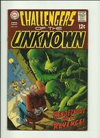 Challengers of the Unknown #66 Comic Book DC 1969