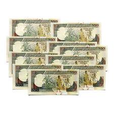 10 Somalia 50 Shillings 1991 P-R2 Au-Uncirculated
