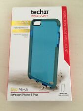 Tech21 Evo Mesh Case Cover for iPhone 6 Plus.  NEW !!!  Teal Color.