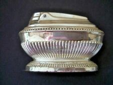 Vintage RONSON QUEEN ANNE TABLE LIGHTER Silver Plated