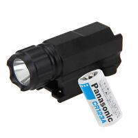 Tactical 2000Lm LED Flashlight Torch Gun Rifle Shotgun Mount Hunting Light Lamp