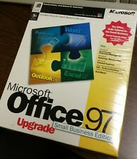 Microsoft Office 97 Small Business Edition - New - Sealed - Upgrade!