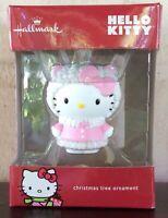 Hallmark Christmas Tree Ornament Hello Kitty Resin Pink Ballerina 2016 NEW NIB