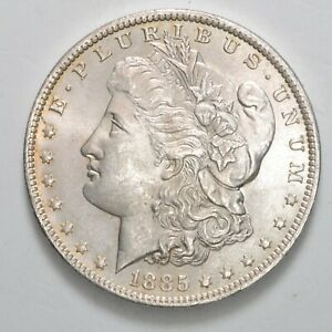 USA 1 One Dollar Morgan 1885 O  - Argento Silver