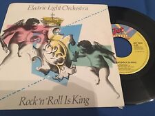 ELECTRIC LIGHT ORCHESTRA - ROCK'N' ROLL IS KING - HOLLAND 45 SINGLE
