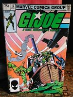 Vintage GI JOE Comic Book: A Real American Hero ~ MARVEL COMICS #12