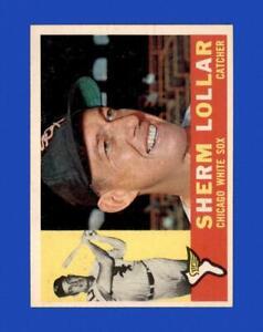 1960 Topps Set Break #495 Sherm Lollar EX-EXMINT *GMCARDS*