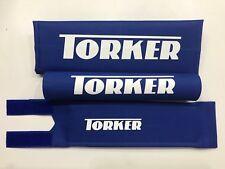 Torker Bmx Pad Set Blue Oldschool REPOP Tange Koizumi  PK Ripper Kuwahara