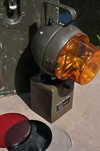 Eisemann KEB 130/1 Handleuchte // Lampe // Leuchte // Hindernis Lampe // BW