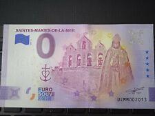 BILLET EURO SOUVENIR 2021-2 SAINTES MARIES DE LA MER ANNIVERSAIRE