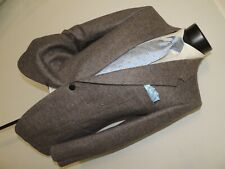 "Yves Saint Laurent ""YSL"" men's Vintage Brown & Gray tweed jacket size 38 Short"