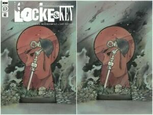 Locke and Key: In Pale Battalions Go #1 Peach Momoko Virgin Variant Set SOLD OUT