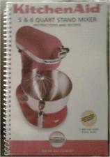 B006Zqlwka Kitchen Aid 5 6 Quart Stand Mixer Instructions and Reci