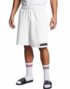Champion Men's Powerblend Fleece Shorts, Knockout Logo