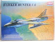 Academy 1:48 escala kit plástico no 2164 Hawker Hunter F.6 (nuevo)
