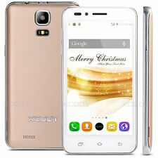 XGODY Unlocked Smartphone 2SIM 3G/GSM Android 5MP Mobile Phone 4.5 Inch QuadCore
