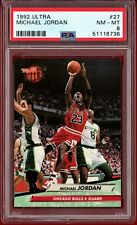 1992-93 Fleer Ultra #27 Michael Jordan (Bulls) HOF PSA 8 NM-MT