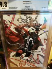 Spawn #293 CGC 9.8 McFarlane Virgin Variant Cover B White Pages