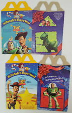 McDonalds 1999 Toy Story 2 Happy Meal Box Lot of 2
