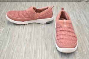 **Ryka Adel Comfort Slip On Shoes, Women's Size 11 W, Tea Rose