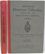 1921 SHEFFIELD DIOCESE YEARBOOK CHURCH & SOCIAL HISTORY