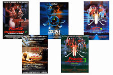 A NIGHTMARE ON ELM STREET - SET OF 5 - A4 POSTER PRINTS # 2