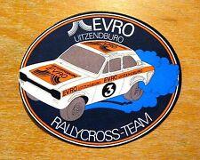 Evro FORD ESCORT MK1 RALLYCROSS Team Motorsport Adesivo / Decalcomania