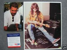 Eddie Van Halen Rare! signed 8x10 photo PSA/DNA PROOF!!