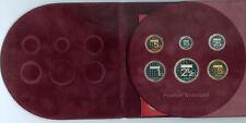 Niederlande Gulden-Kursmünzensatz 2001 PP Der letzte vor dem Euro! (8,90 Gulden)