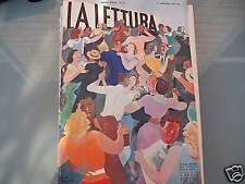MUNARI, TIPOGRAFIA in La lettura  - maggio 1937