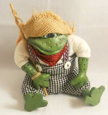 Russ Berrie Mr. Tadpole Frog Critter Collectable Plush