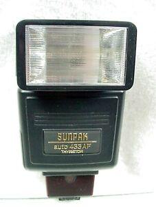 Sunpak Auto 433AF TTL  Flash | For Minolta AF | Tested | Works Great | $15 |