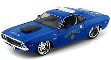 Maisto Allstars 1970 Dodge Challenger R/T State Police 1:24 diecast model M247