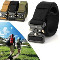 ENNIU Men Tactical Buckle Belt Military Nylon Belt Training Belt Strap