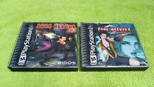 Fear Effect + Fear Effect 2 Retro Helix Sony Playstation PS1