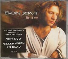 Bon Jovi Lie To Me Cd Uk Mercury 1995 4 Track Album Version B/W Something For