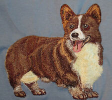 Embroidered Fleece Jacket - Pembroke Welsh Corgi Dtl013