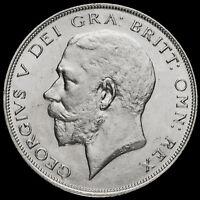 1926 George V Silver Half Crown, Second Coinage, Rare, AEF / EF