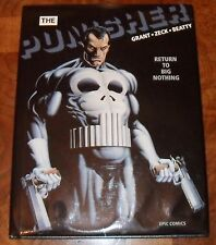 The Punisher Return To Big Nothing HC MARVEL 1989 1st Print SIGNED by Mike Zeck