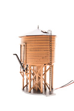 HO Scale Broadway Limited 'Unlettered' Motorized Water Tower #6091........ ..TK